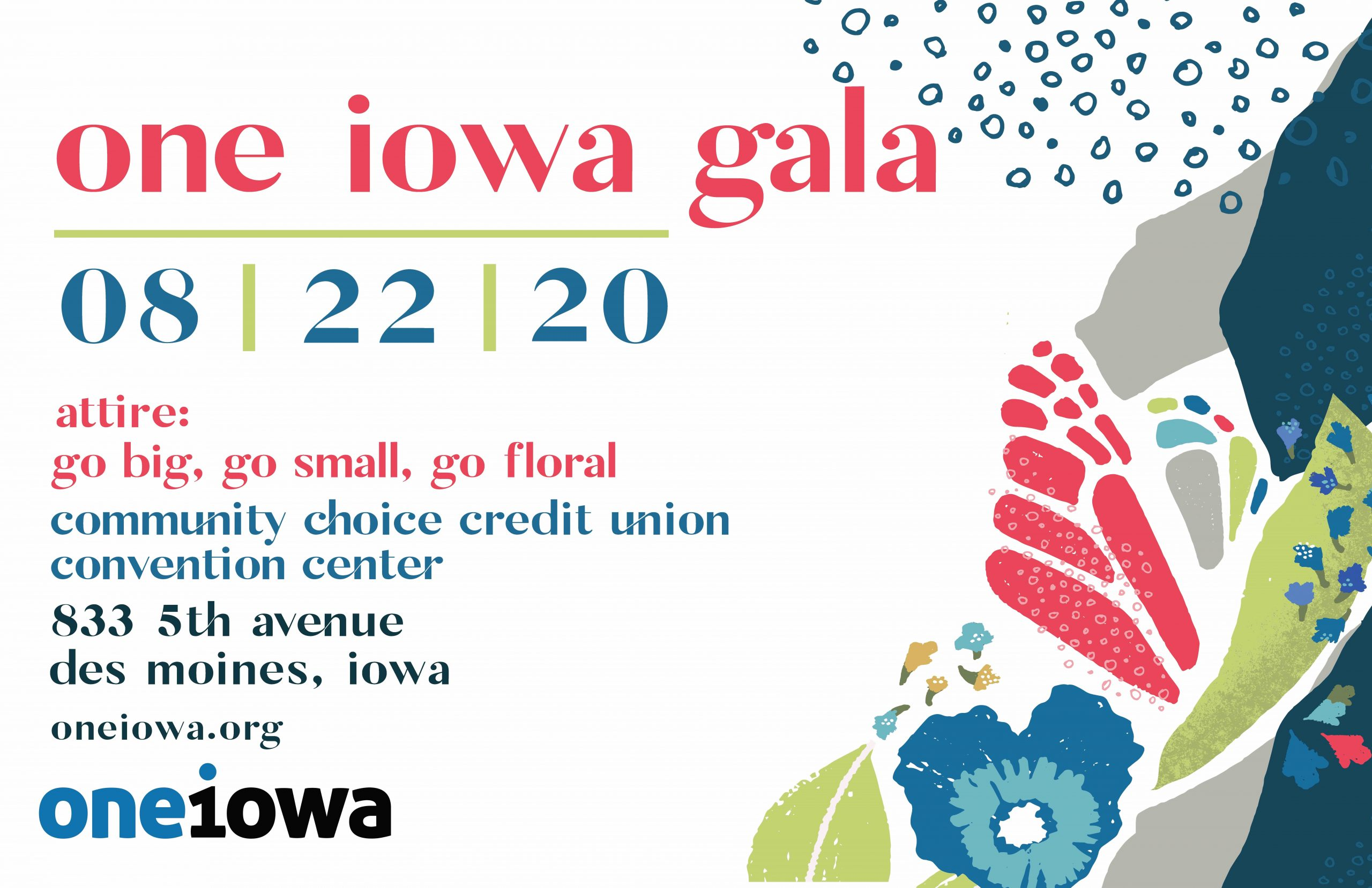 One Iowa Gala - Aug 22, 2020